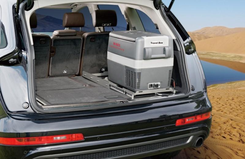 英得尔车载冰箱采用德国secop压缩机制冷,可精准控温至每1℃,最低可