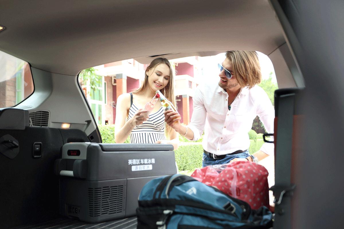 X40车载冰箱日常使用场景